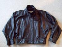 Label is Georgetown Leather Design. Very soft leather,
