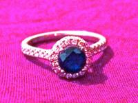 I'm offering my beautiful sapphire ring to whomever is