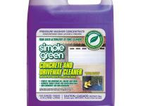 Simple Green Concrete and Driveway Cleaner is specially