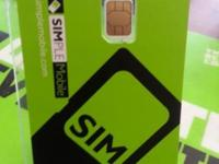 We have in stock sim card ready to active promotion