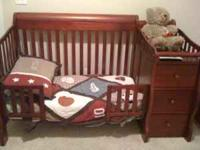 Simplicity 4-in-1 Crib/Changer and Matching Dresser 3