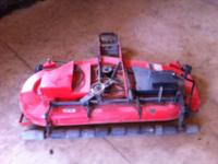 "For sale I have a 54"" mower deck that came off my"