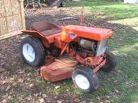 i have an early 1960's Simplicity 725 Garden Tractor,
