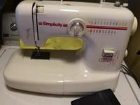 Nice everyday sewing machine in excellent condition.