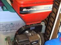 Used, but in great condition Simplicity Chipper. Model