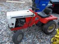 Old SIMPLICITY LANDLORD garden tractor. All original