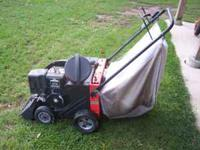 powerful 8hp leaf vac and very powerful chipper makes