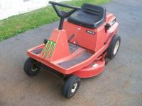 I have for sale a rear engine Simplicity riding lawn