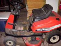 12.5 HP simplicity riding mower for sale.36 in cut