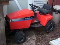 Simplicity riding mower with belly mower and with