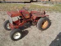 Simplicity 725 Garden Tractor from the