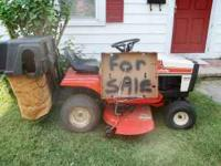 simplisity 10hp lawn tractor in good running cond. /