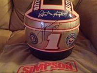 Simpson aaa auto club racing replica helmet Robert