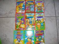 LOT OF 27 SIMPSONS VHS LIKE NEW CALL AT  Location: