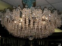 This beautiful Strass/Swarovski chandelier was provided