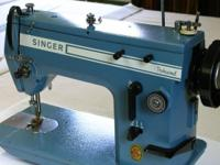Singer 20-33 Industrial ZIGZAG Sewing Machine in good