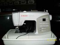 Like New Singer Sewing Machine - I moved back home and