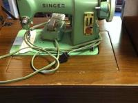 Singer Sewing Machine in cabinet  $65  Singer