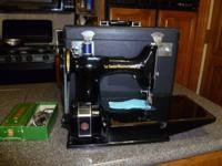 Singer Featherweight Sewing Machine  - $425.00 (Cash