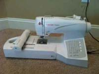 I have a singer futra embrodiery/sewing machine for