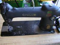 A very nice Singer model 241 industrial straight stitch