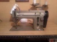 Singer Table Model Industrial Sewing Machine $400 Call