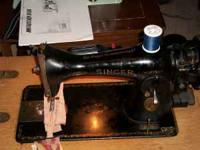 Up for sale is a fantastic 15-91 sewing machine in