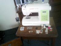 Hi I have a Singer Sewing Machine for sale. I bought it