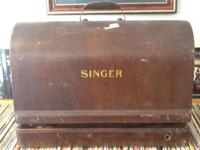 1937 Portable Singer Stitching Piece of equipment Table