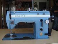 Following is a commercial Singer sewing machine model #