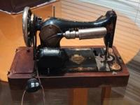 Singer Sewing Machine from my great grandmother from