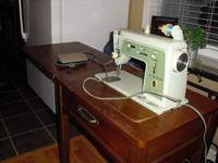 Have an older Singer Touch & Sew sewing machine for