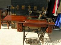 singer treadle sewing machine $125.00 has been