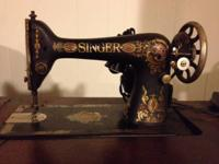 Singer treadle style stitching device model number