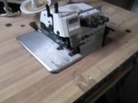 Singer serger commercial, 4500 stitches per minute,