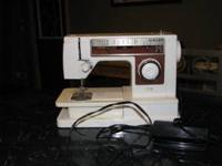 Singer sewing machine model 6106. This machine is in