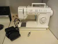 I have a Singer Sewing Machine Model 5705 C. It is in