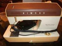 Sewing machine is in perfect working condition... Comes