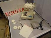Singer Tiny Serger Overedging Machine model TS380A.