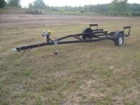 FOR SALE I HAVE A SINGLE AXLE BUNK STYLE BOAT TRAILER