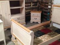 SINGLE BEDROOM SUITE ... HEADBOARD, FOOTBOARD, ARMOIR,