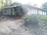 very secluded rolling land,large oaks woods,1400 sq ft