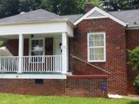 cute brick ranch with unfinished partial basement/