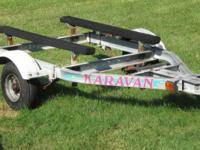 karavan trailer totally redone  new bearings races