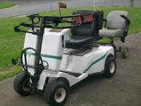 Used, approximately 10 years old, Golf Xpress single