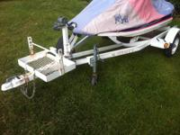Selling my Voyager trailer. I upgraded to a 3 seater