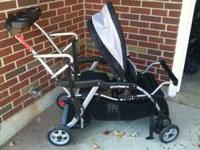 Barely used Sit and Stand stroller. Excellent