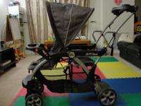 Lightly made use of Sit N Stand Double Stroller, in