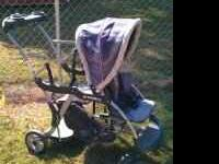 Sit n Stand stroller, needs cleaned but overall good