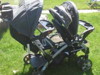 Double stand and go stroller. Excellent condition.